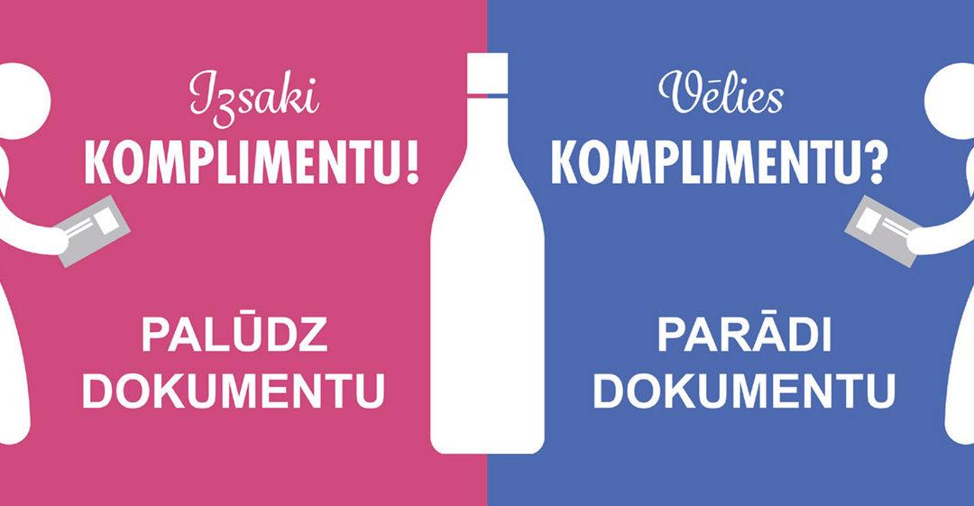 Vai Tu pārdotu alkoholu savam bērnam?