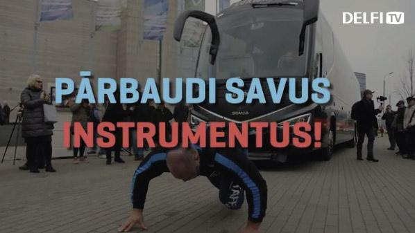Pārbaudi savus instrumentus